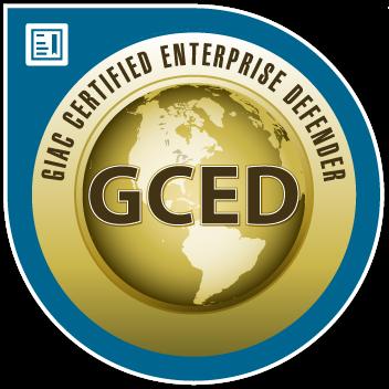 SANS/GIAC Certified Enterprise Defender