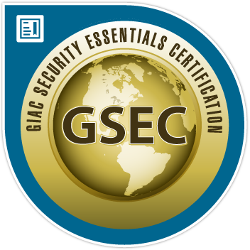 SANS/GIAC Security Essentials Certification
