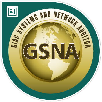 SANS/GIAC Systems and Network Auditor Certification